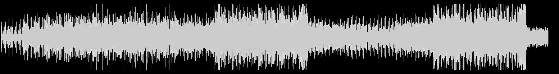 ミドルテンポの骨太なシンセRockの未再生の波形