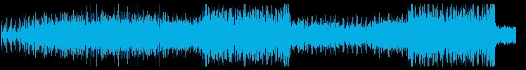 ミドルテンポの骨太なシンセRockの再生済みの波形