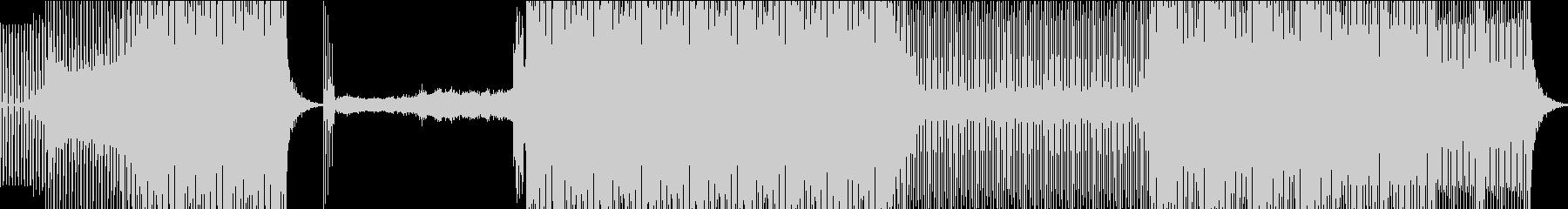 ファンキーでやや暗いエレクトロトラックの未再生の波形