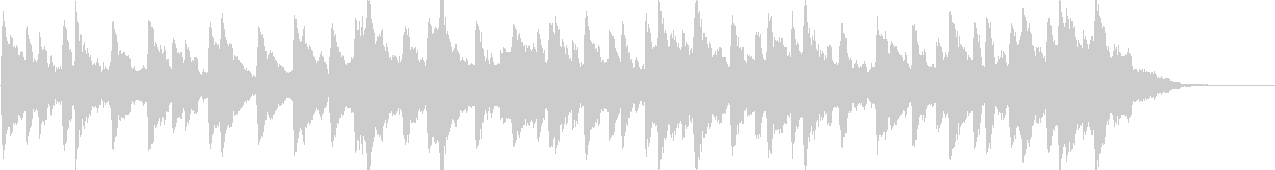 童謡「雪やこんこん」オルゴールbpm96の未再生の波形