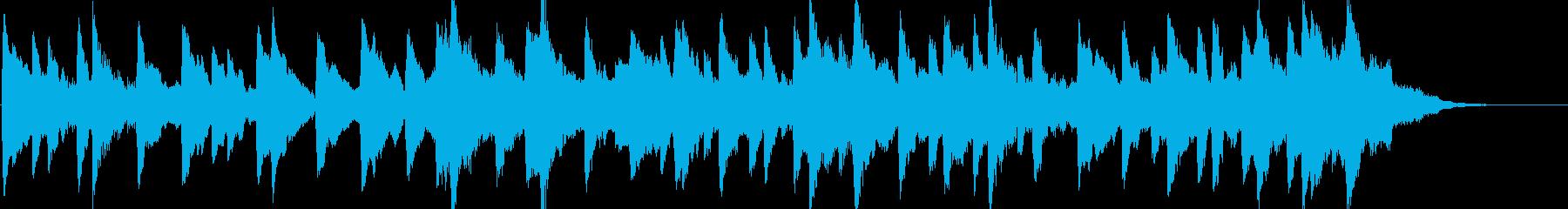 童謡「雪やこんこん」オルゴールbpm96の再生済みの波形