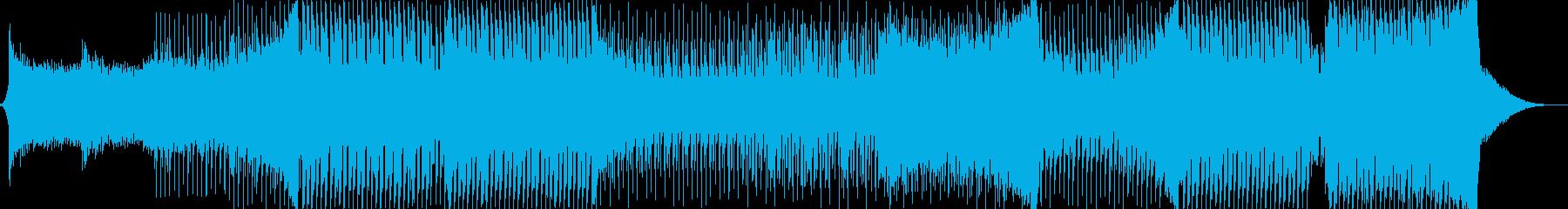 クラブ、パーティーで流れるEDM系ダンスの再生済みの波形