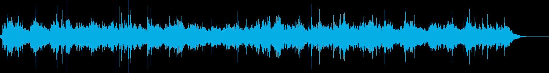 グイーーンガコンガコン(重機が動く音)の再生済みの波形