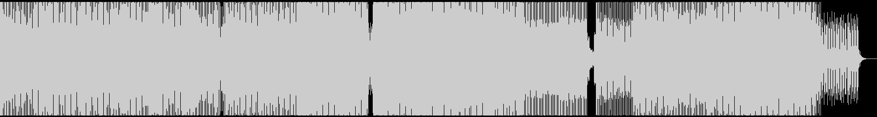 ダークで不気味、低音重視、ミニマルテクノの未再生の波形