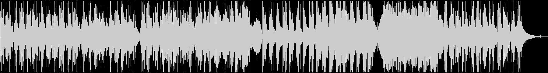 アコギとハープの穏やかなヒーリング曲の未再生の波形
