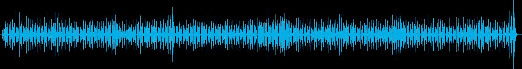 かわいい・軽い感じ・ほのぼのピアノの伴奏の再生済みの波形