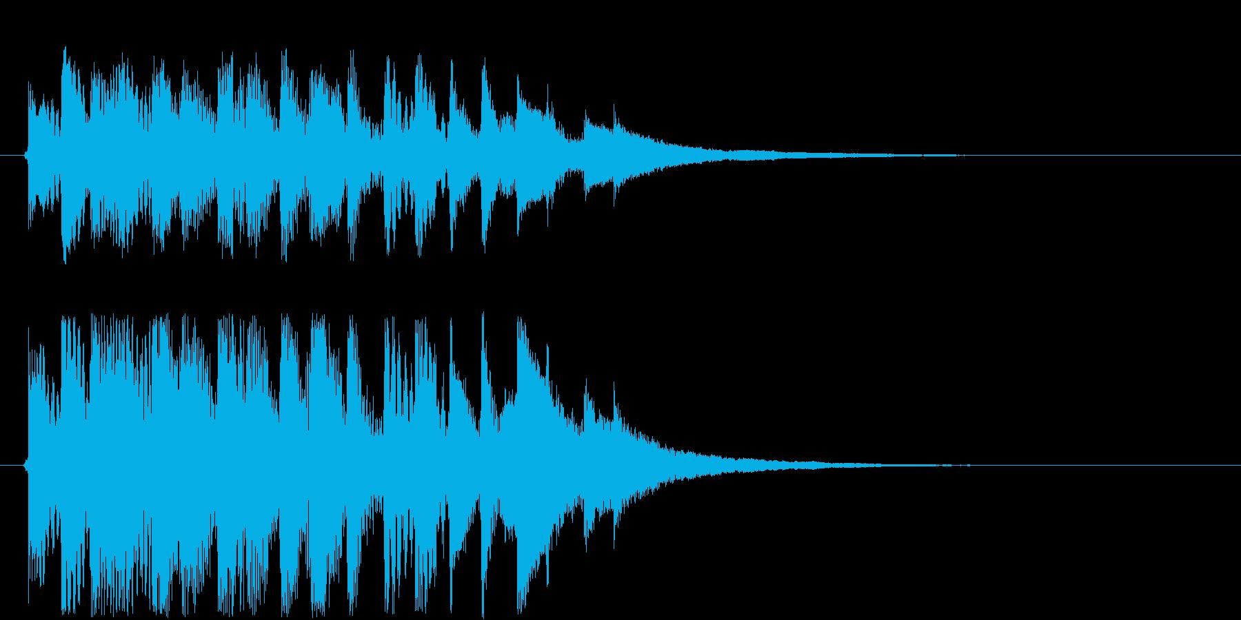 フレクサトーンの再生済みの波形