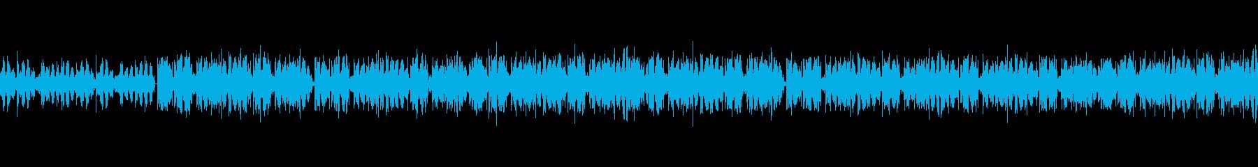 夜のドライブで流したい ローファイBGMの再生済みの波形
