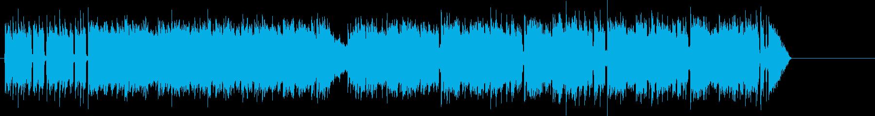 夏のサーフ・ミュージック風ポップ/ロックの再生済みの波形
