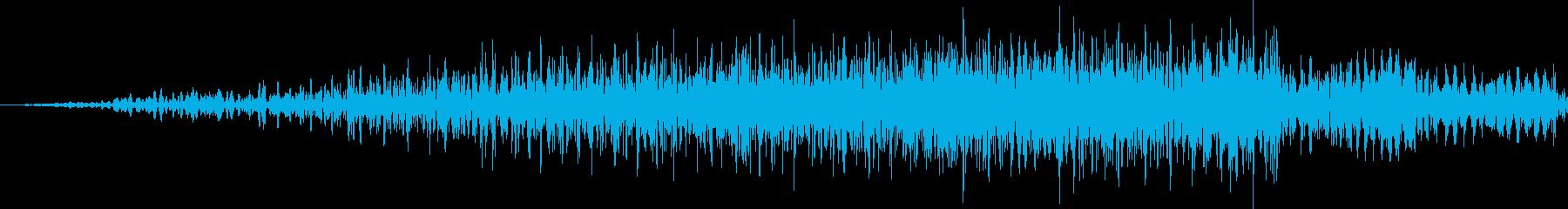 ヒューシュフラッシュバックリバース...の再生済みの波形
