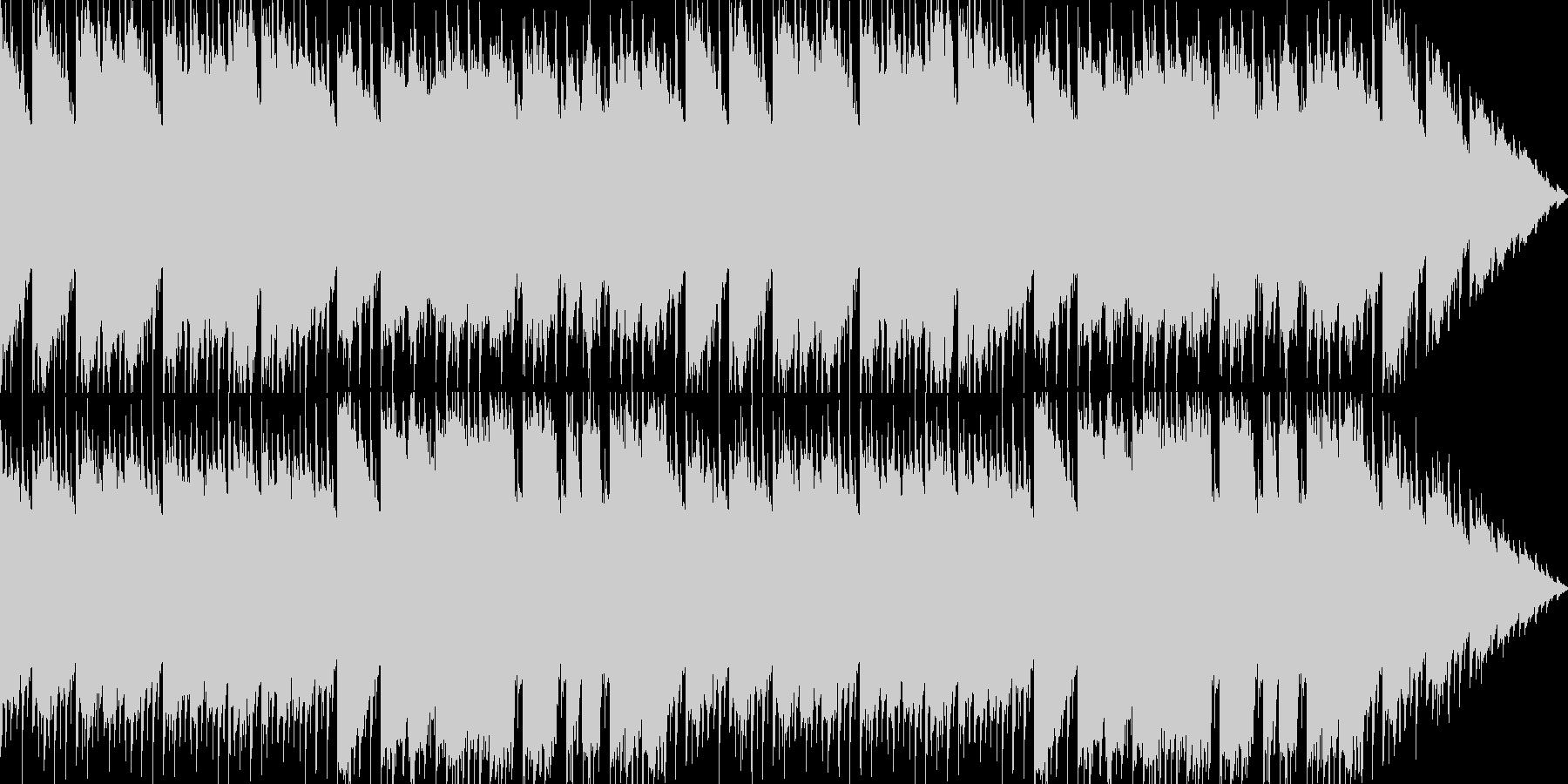 懐かしい雰囲気のダンジョンBGMの未再生の波形