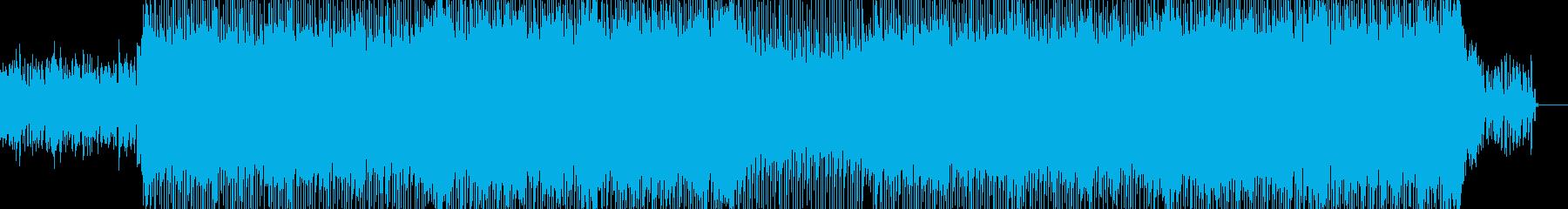 明るくポップな企業イベントVP-36の再生済みの波形