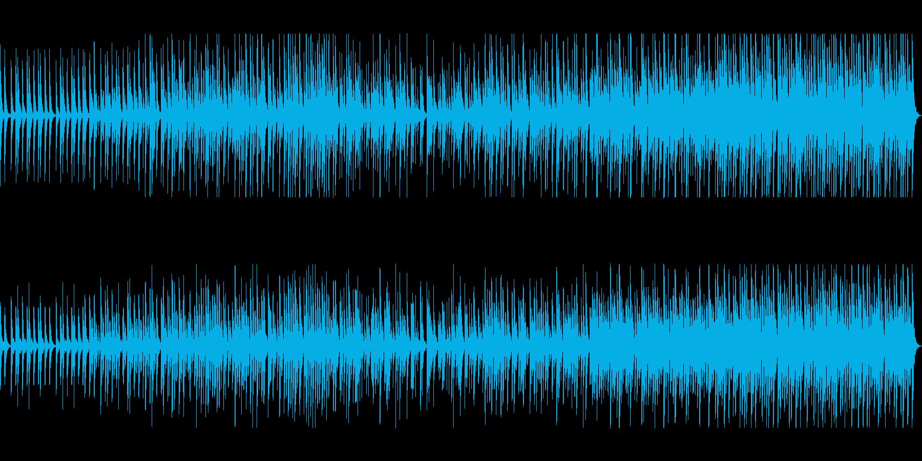 木琴とピアノのミニマル・ミュージックの再生済みの波形