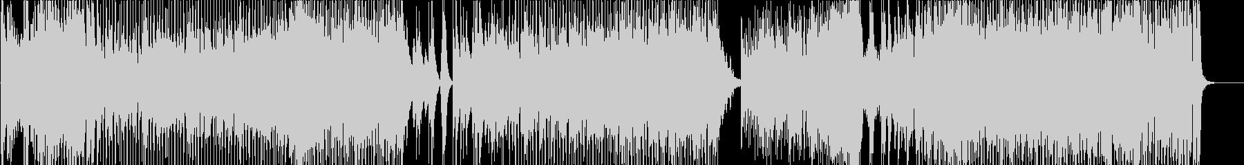 ラテン調の疾走感あふれるピアノ・トリオの未再生の波形