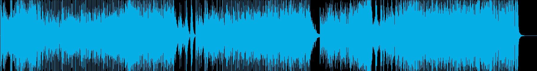 ラテン調の疾走感あふれるピアノ・トリオの再生済みの波形