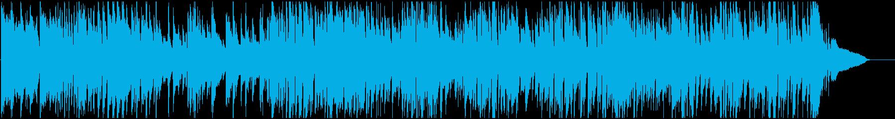 不思議でおっちょこちょいな雰囲気のジャズの再生済みの波形