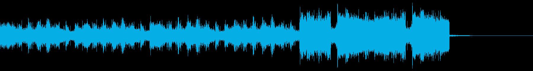 クールでエキサイトなEDM ボイス入りの再生済みの波形