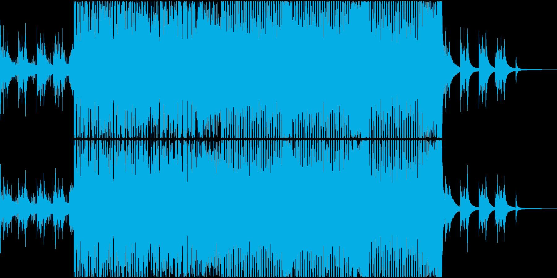 和モノ切ない系ブチ上がりEDMの再生済みの波形