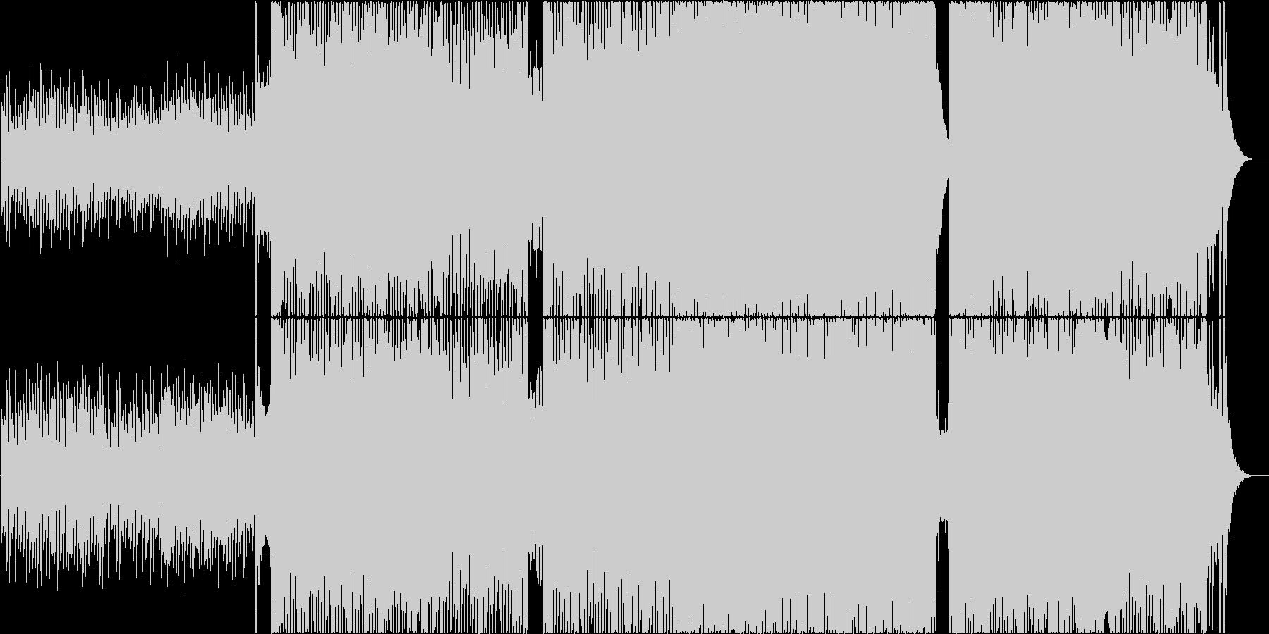 6/8拍子で不思議なサーカスの様な曲の未再生の波形
