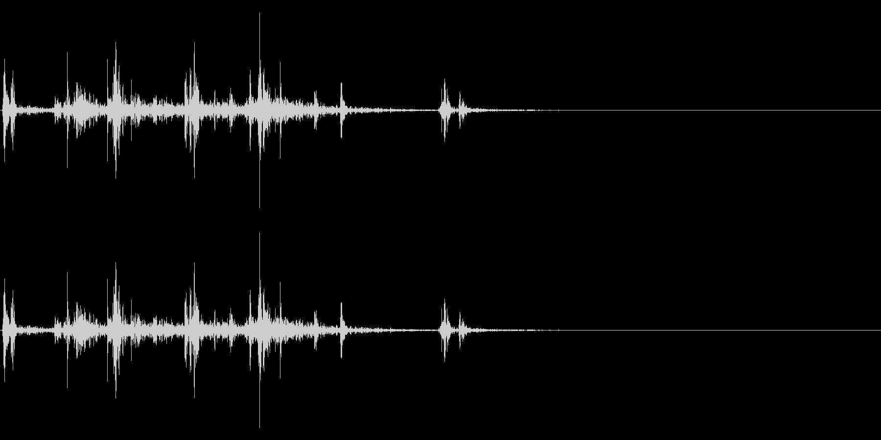 【生録音】ルービックキューブの操作音 4の未再生の波形