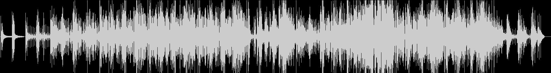 アンニュイなピアノフレーズの繰り返しの未再生の波形