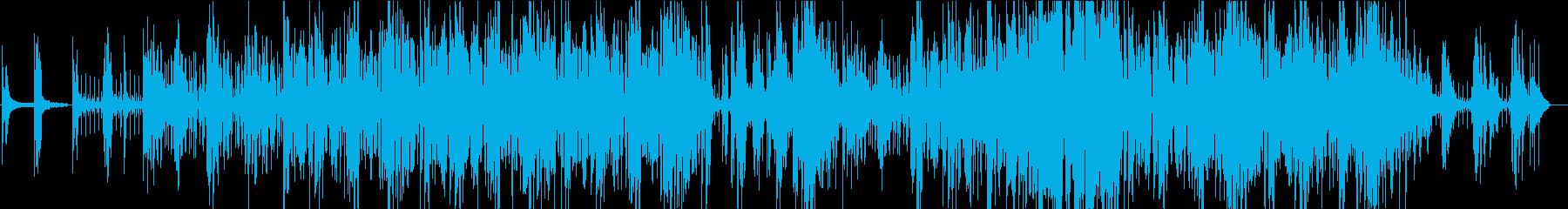 アンニュイなピアノフレーズの繰り返しの再生済みの波形