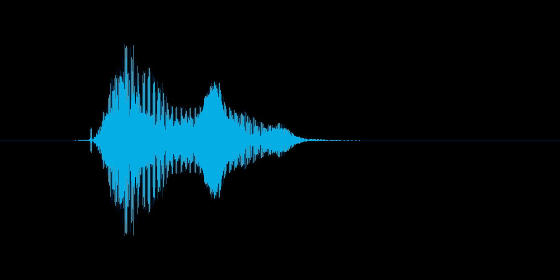 ぴょん♪の再生済みの波形