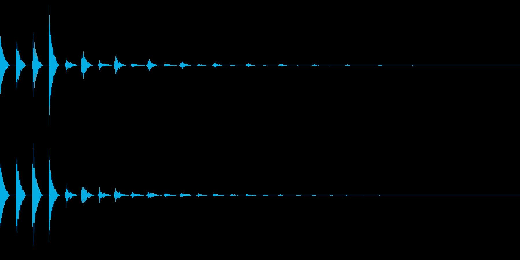 ピコピコSF宇宙なアンビエント/深海#2の再生済みの波形