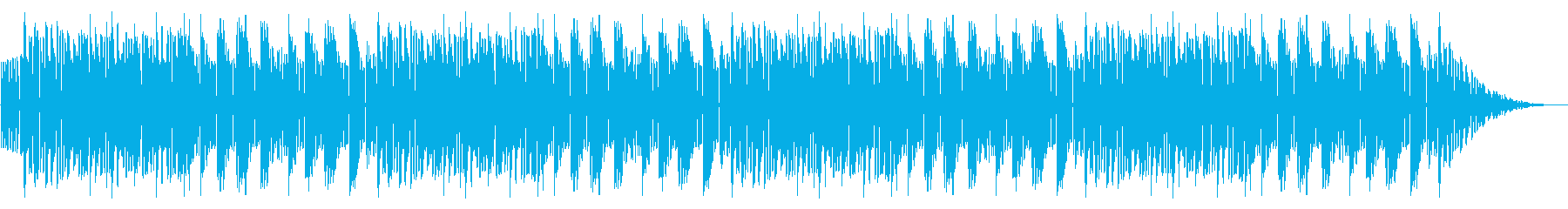 GB風アクションゲームのタイトル曲の再生済みの波形