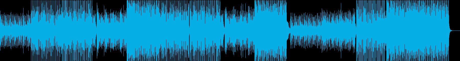 楽しくて遊び心のあるこのEDMの曲...の再生済みの波形