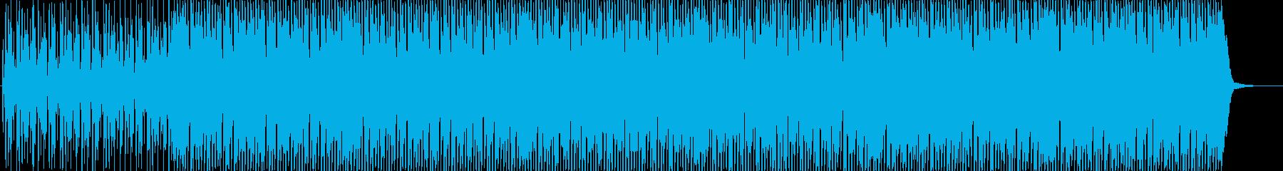 浮遊感のある4つ打ちHouseの再生済みの波形