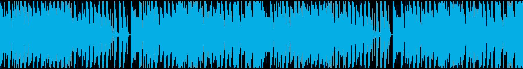 迫力とパワーのあるDnB ループ対応の再生済みの波形