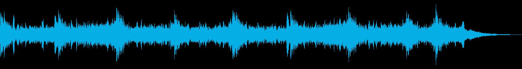生命自然感動宇宙アンビエントヒーリングdの再生済みの波形