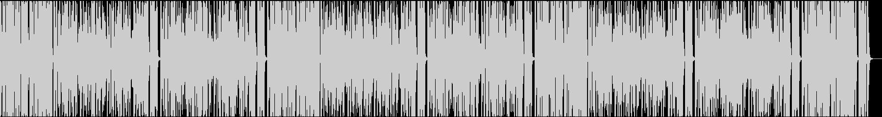 9秒でサビ、インパクト、イケイケの未再生の波形