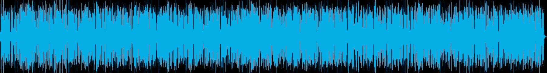 18分おしゃれジャズピアノバーBGMの再生済みの波形