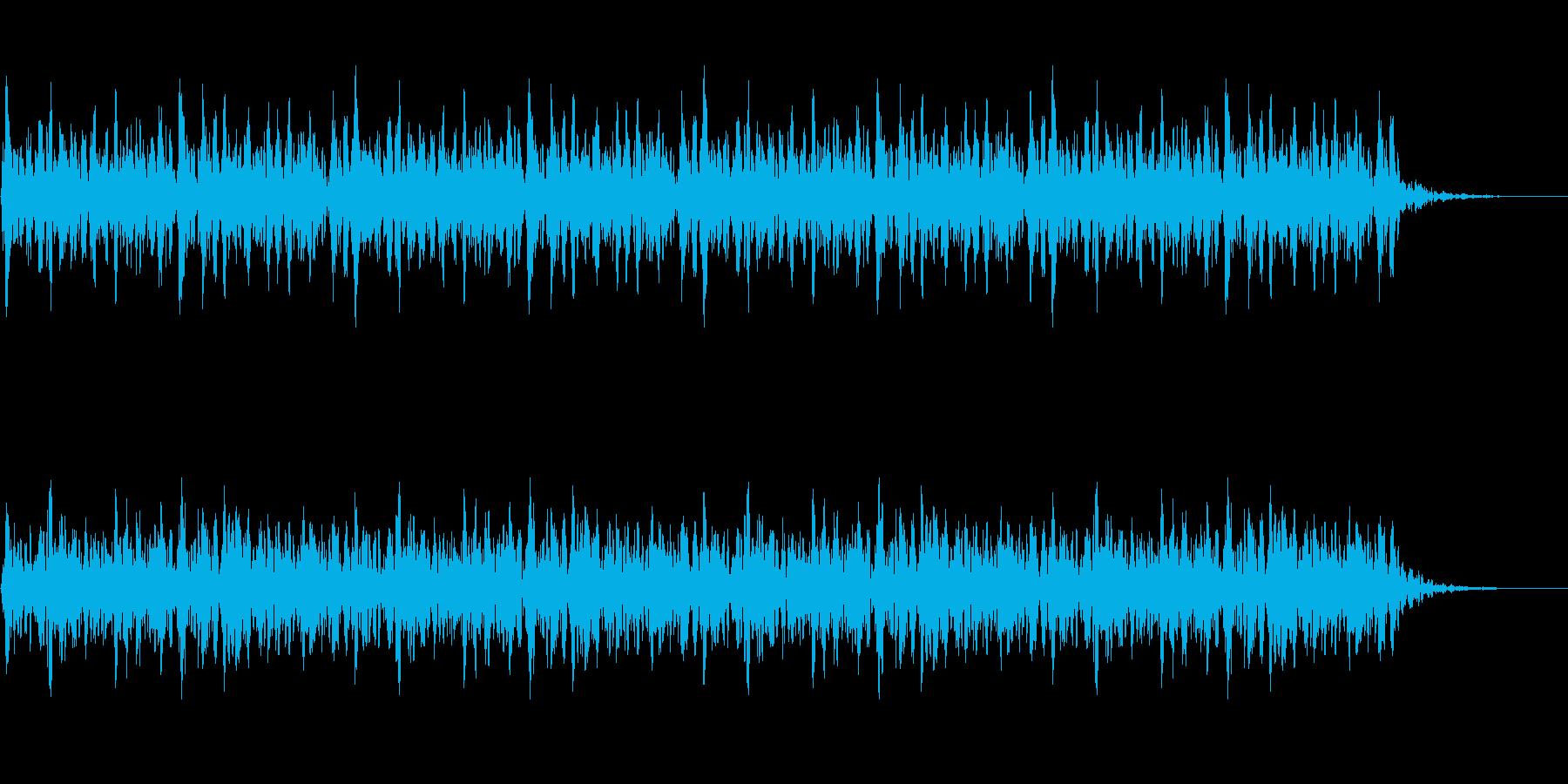 太鼓 躍動的 迫力 効果音 パターン#5の再生済みの波形