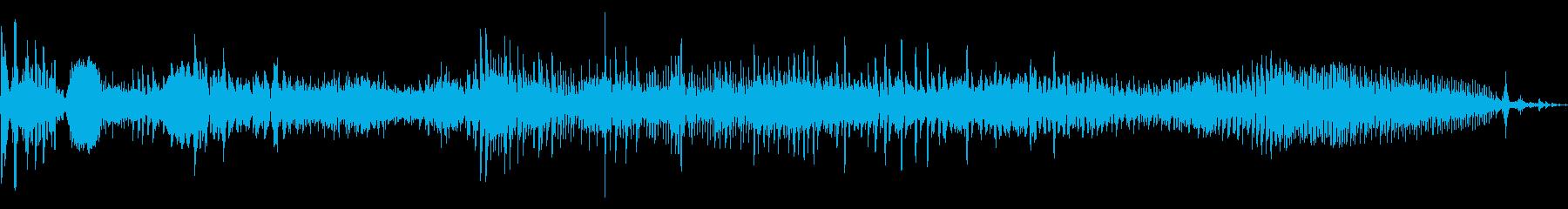 くっそーの再生済みの波形