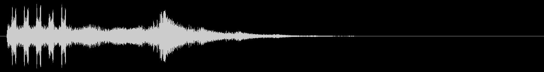 特撮の変身や必殺技のような効果音_5の未再生の波形