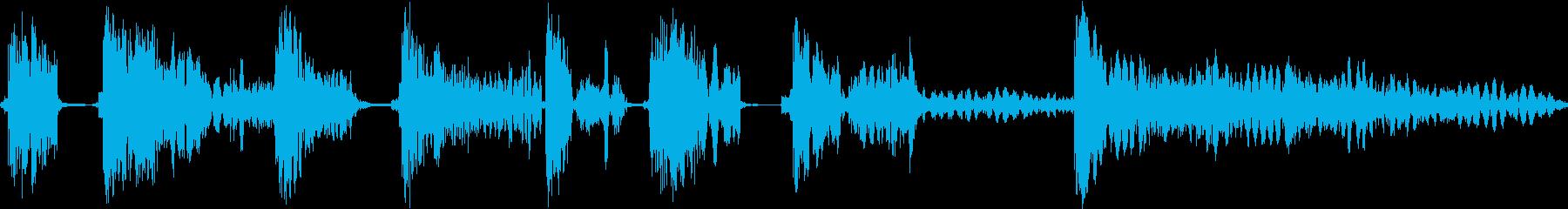 ヒットヒットインパクト11の再生済みの波形