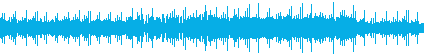 VP系11、爽やかなロック、ドライブFの再生済みの波形