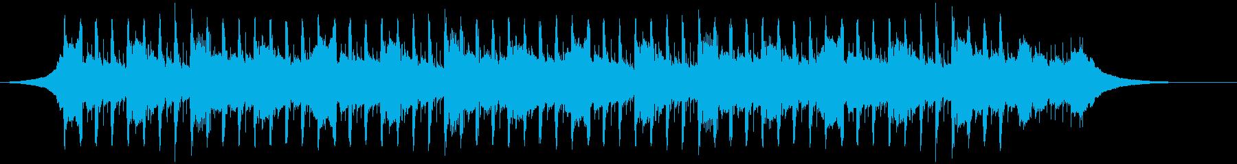 穏やかな企業(40秒)の再生済みの波形