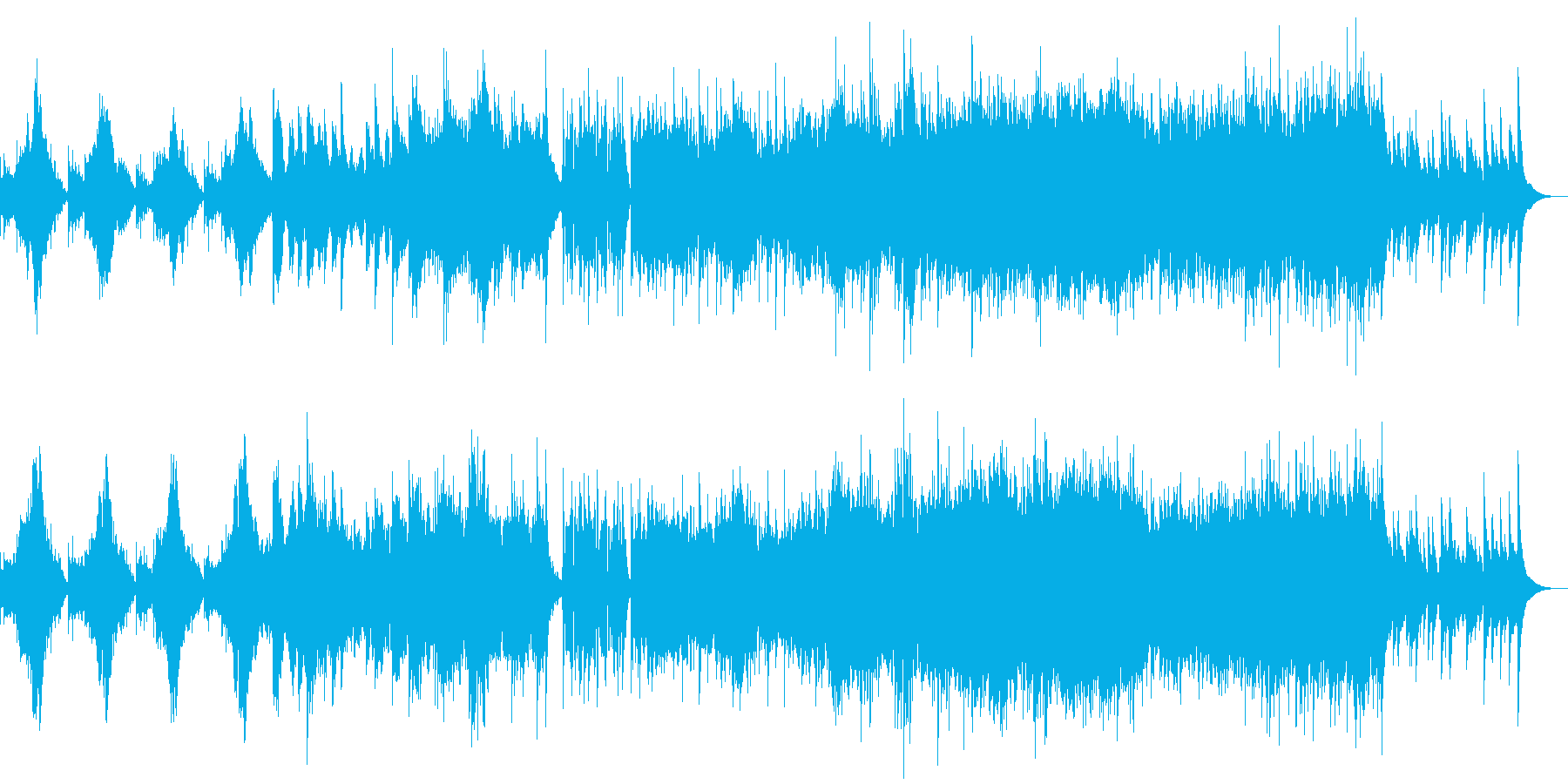 現代の交響曲 ロマンチック ラブ ...の再生済みの波形