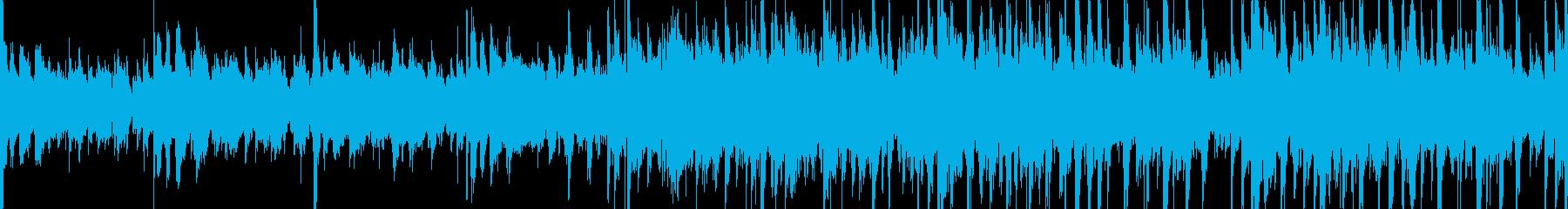 ボサノバポップスBGM生エレキ生アコギ!の再生済みの波形