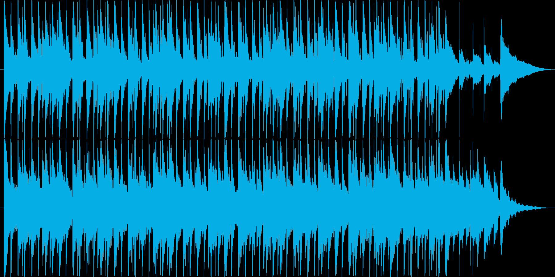 楽しい雰囲気のBGM(30ver)の再生済みの波形