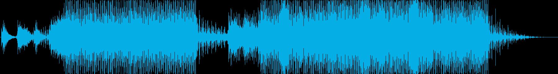 尺八をフィーチャーした日本的なEDMの再生済みの波形