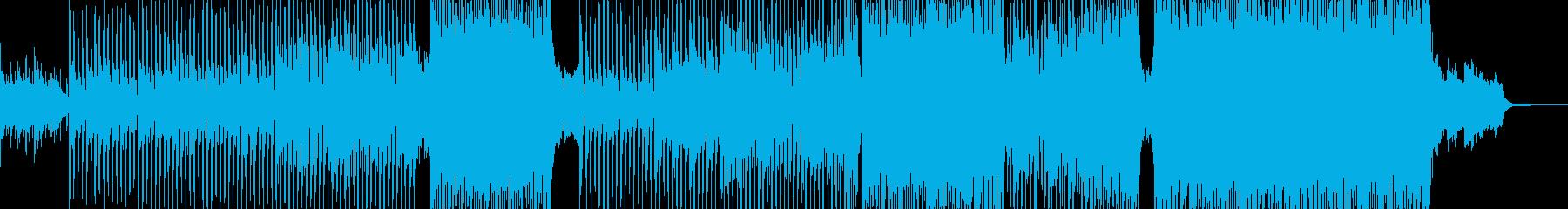 希望・涙を笑顔に テクノ・エレキ無 Sの再生済みの波形