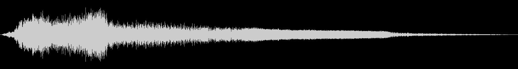 ロードキル、モーターグロールスラム...の未再生の波形