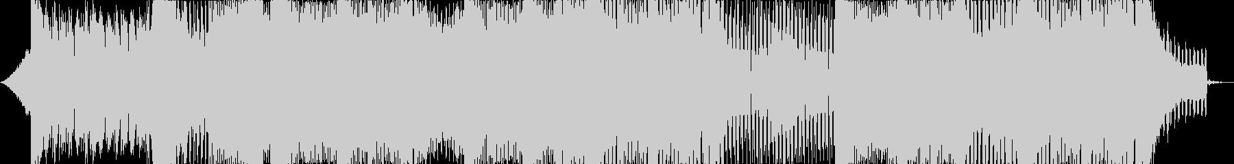 跳ねるような軽快なEDMの未再生の波形