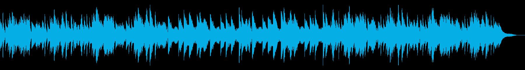 切ない旋律が印象的なピアノソロの再生済みの波形