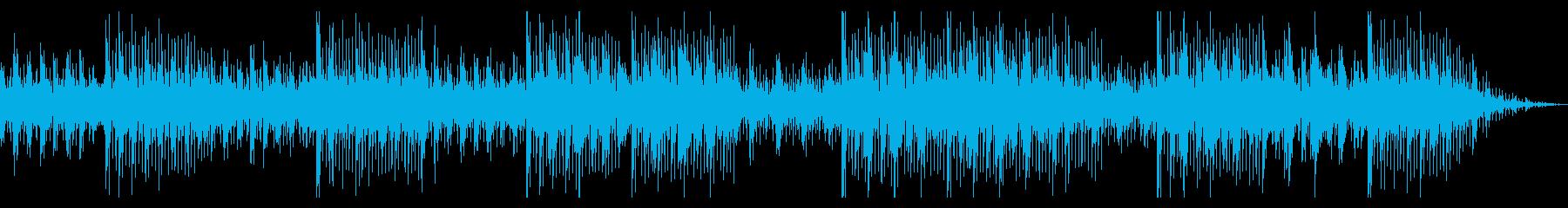 爽やかなディスコハウス風BGMの再生済みの波形
